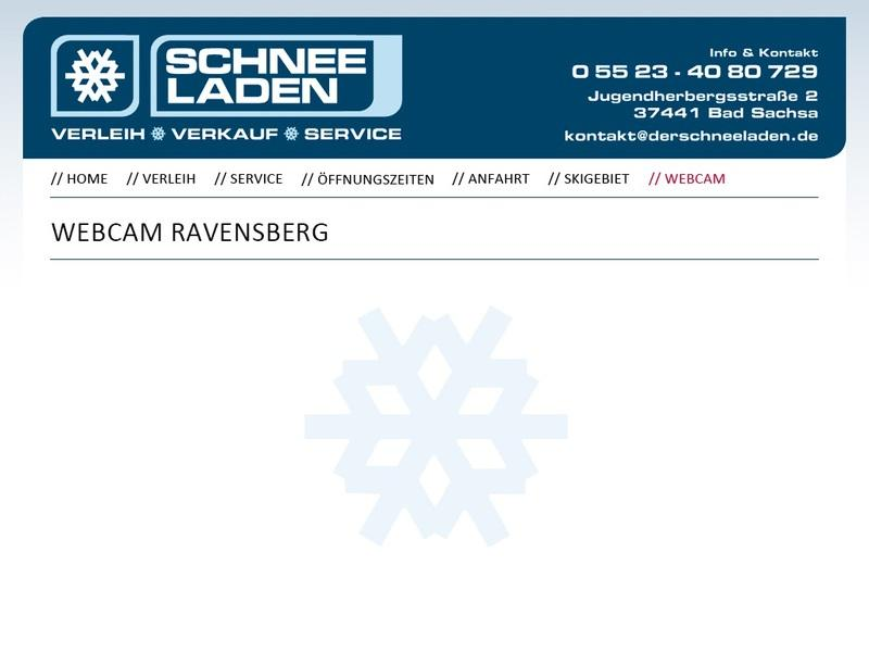Screenshot von http://www.derschneeladen.de/webcam/index.htm